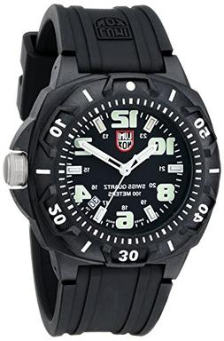 Luminox Men's 0201.SL Sentry 0200 Black Case With Luminescen