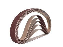 1/2 Inch X 18 Inch Aluminum Oxide Sanding Air File Belts
