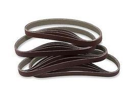 1/2 X 18 Inch 80 Grit Aluminum Oxide Air File Sanding Belts,