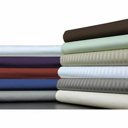 Deep Pocket Fitted Sheet+2 PC Pillow Case 1000 TC Egyptian C
