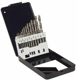 13 Piece HSS Drill Bit Set High Performance Steel Multi Purp