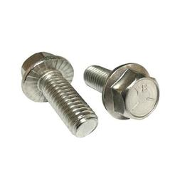 5/16-18x1-1/2 Hex Serrated Flange Screws 18-8 Stainless Ste