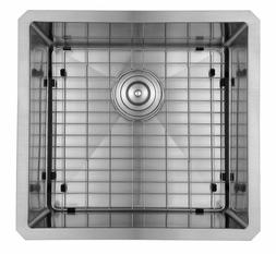 Starstar 16 x 18 inch Undermount Stainless Steel Single Bowl