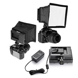 Neewer 160 LED CN-160 Dimmable Camera/Camcorder Video Light