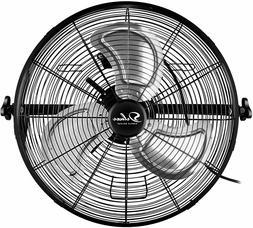 Simple Deluxe 18/20'' High Velocity 3-Speed Wall-Mount Fan U