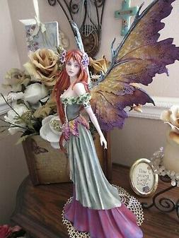 18 inch Amy Brown SUMMER QUEEN Fairy Figurine Brand New In B