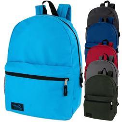 18 Inch Backpack With Side Pocket  6 Color  Case Pack 24