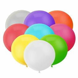 18 Inch Big Round Balloon Assorted Latex Giant Balloon Jumbo