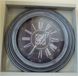 18-Inch Contemporary Wall Clock Skytimer Battery Powered Dis