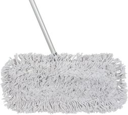 Tidy Tools 18 inch Cotton Dust Mop + EXTRA MOP HEAD