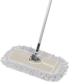 Tidy Tools 18 inch Cotton Dust Mop with Metal Telescopic Han