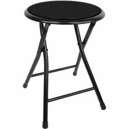 18 inch cushioned folding stool easy to