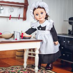 18 Inch Doll Clothes 4 PIECE HISTORIC KITCHEN MAID OUTFIT Fi