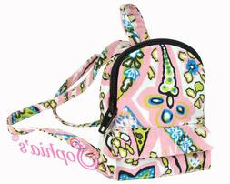 18 Inch Doll Mini Backpack - Pink Paisley - Backpack for Ame