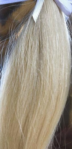 18 Inch INVISI TAB Hair Extensions, Color Light Blonde #613