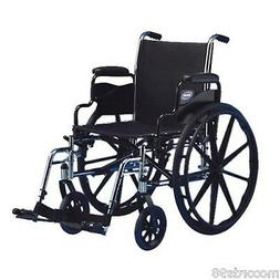 INVACARE 18 Inch -  Lightweight PORTABLE TRAVEL WHEELCHAIR S