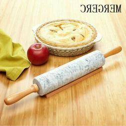 Wooden Rolling pin 18 inches 45cm Pastry Baking Beech Wood