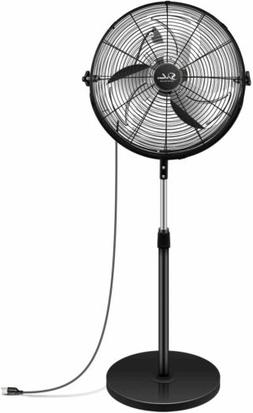 Simple Deluxe 18 Inch Pedestal Standing Fan High Velocity He