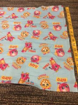 18 Inch Piece Of Cotton Shopkin Fabric