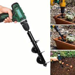 18 inch Planting Auger Spiral Hole Drill Bit For Garden Yard