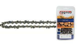 "18-Inch Semi Chisel 62 Drive Links Chainsaw Chain 3/8"" LP Pi"