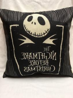 18 Inch The Nightmare Before Christmas Pillow Case/zipperclo