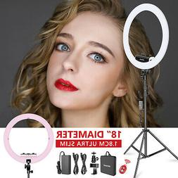 Neewer 18 inches,3200-5600K,Dimmable LED Ring Light with Lig
