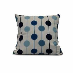 18 x 18-inch, Brady Beads, Stripe Print Pillow