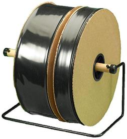 "Bauxko 18"" x 725' Black Poly Tubing, 6 Mil, 725 ft Roll"