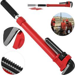 18inch Straight Adaptable Cheater Pipe Wrench Adjustable Wit