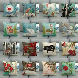 18x18 Inch Soft Decorative Square Washable Sofa Pillow Cases