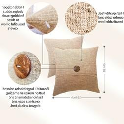 Osage Bay 2 Pack Rustic Deco Throw Pillow Covers Modern Styl