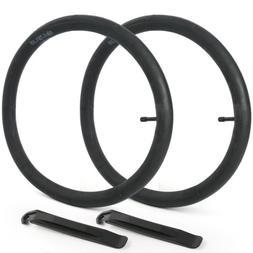 "2 x 18"" inch Inner Bike Tube 18x1.75-1.95 Bicycle Rubber Tir"