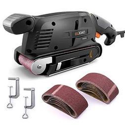 3 × 18-Inch Belt Sander with 13Pcs Sanding Belts Tacklife P