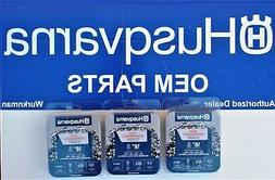 3 pack Genuine Husqvarna 531300439 18-Inch H30-72  Pixel Cha
