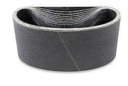 3 X 18 Inch 600 Grit Silicon Carbide Sanding Belts, 8 Pack