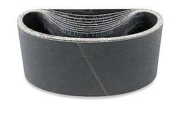 3 X 18 Inch 400 Grit Silicon Carbide Sanding Belts, 8 Pack