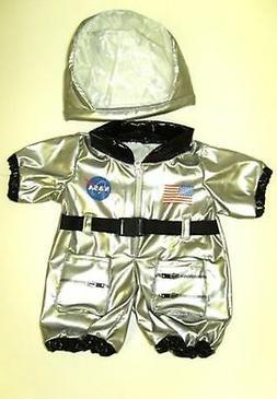 "Bear Factory Silver NASA Astronaut Outfit Clothes for 14"" -"