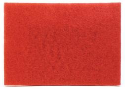 "3M Buffer Pad 5100, Red, 12"" x 18"""