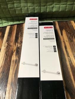 Delta Faucet 41824 & 41818 , 24 & 18 Inch Grab Bars, Polishe