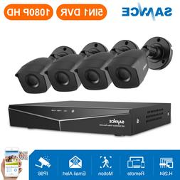 SANNCE 4CH 1080N CCTV DVR 1500TVL HD IR