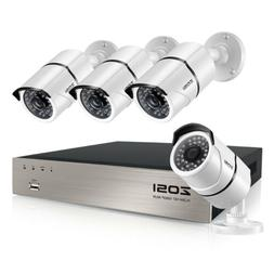 ZOSI 8 Channel 1080p IP POE Security Camera System Outdoor 2