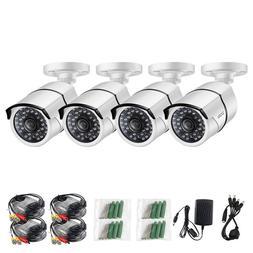 ZOSI 4X 720P HD 4-in-1 100ft IR-Cut Security Surveillance CC