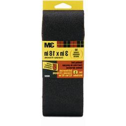 3m 3in. X 18in. 50 Grit Sanding Belts 92156