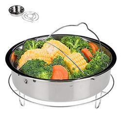 Secura 6-quart Electric Pressure Cooker Steam Rack Basket Se