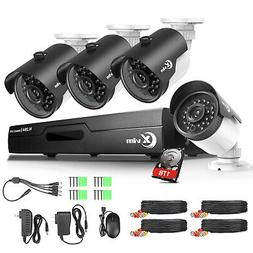 XVIM 8CH 720P Outdoor Weatherproof Security Camera System CC