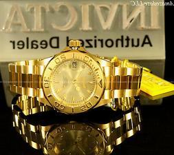 Invicta Men's 'Pro Diver' Japanese Automatic Gold-Tone-Stain