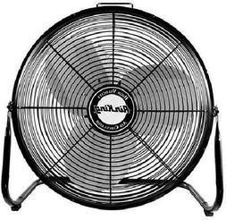 Air King 9214 14-Inch Pivoting Floor Fan Black Powerful Cons