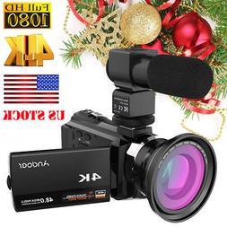 ANDOER WIFI 4K HD 1080P 48MP 3'' TOUCHSCREEN DIGITAL VIDEO C