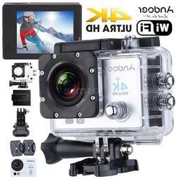 Andoer WiFi 4K Full HD 1080P Waterproof Sports DV Action Cam